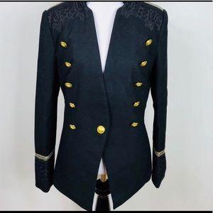 Romeo & Juliet Couture new black medium  jacket